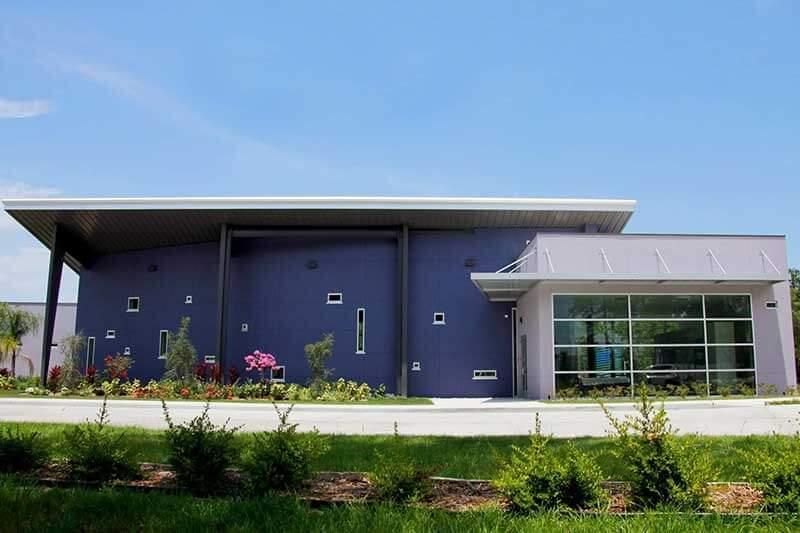 WellcomeOm Center Auratorium Front View