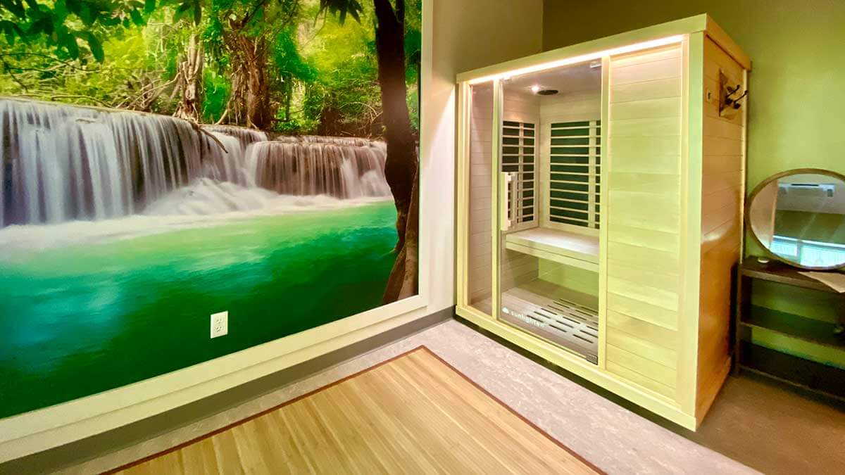 Infrared Sauna Therapy Room