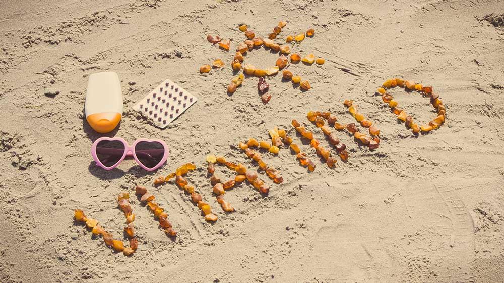 vitamin d on the beach