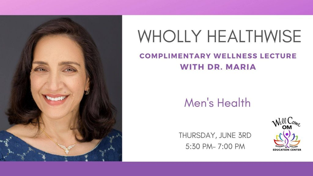 Men's Health Lecture to Discuss Balance of Hormones and Keeping Up an Appetite for Life