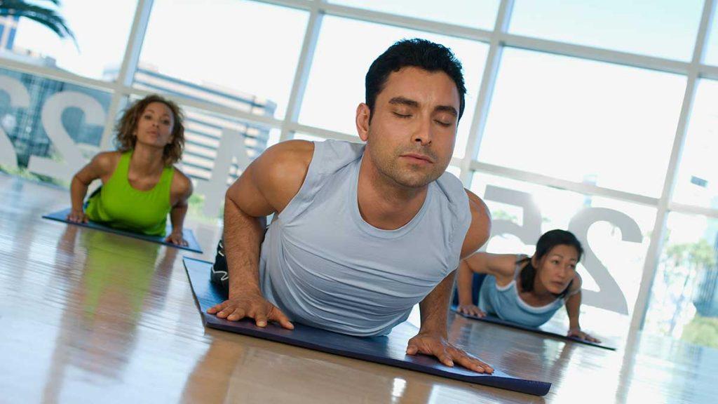 co-ed yoga classes